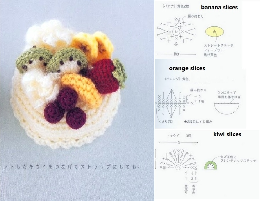 Ravelry: Amigurumi Banana pattern by Barbara Strasser | 694x898