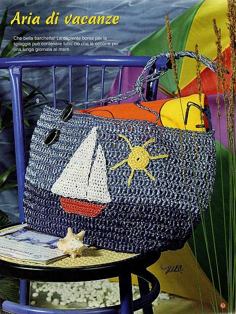 borsa uncinetto da spiaggia (1)