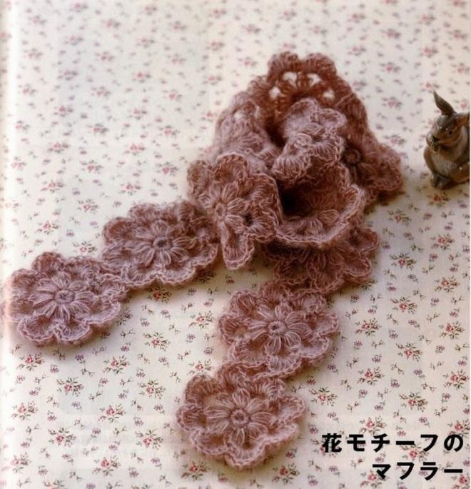 ondori rose scarf (1)