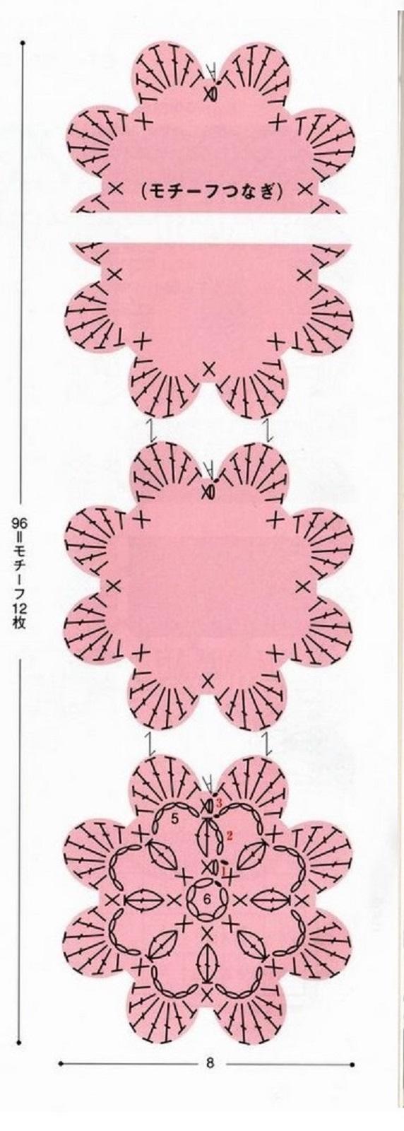 ondori rose scarf (2)