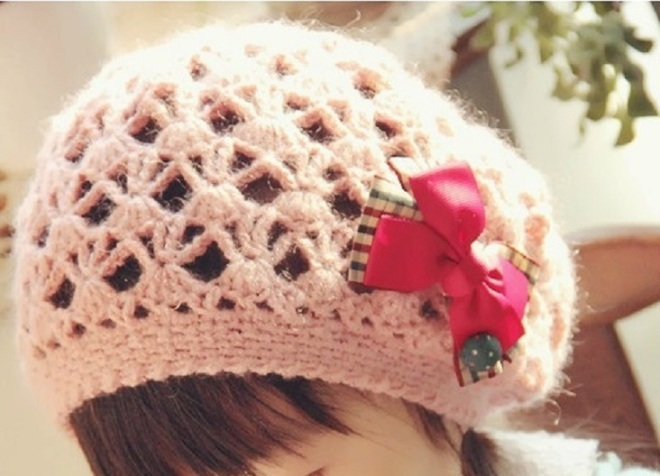 crochet beret  (1)