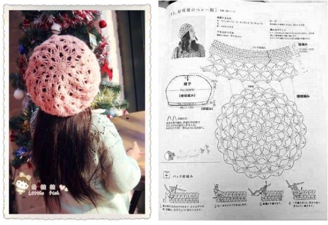 crochet beret  (2)