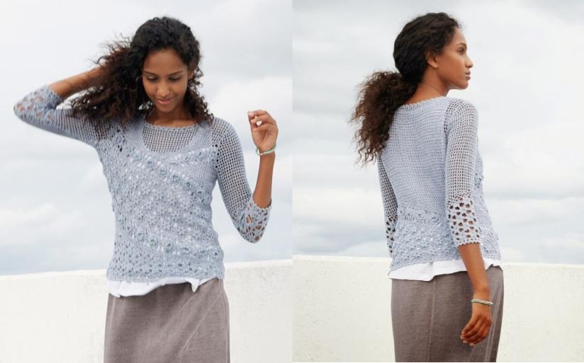 Filet Lace SummerSweater